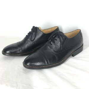 Sandro Moscoloni Oxford Dress Shoe Cap Perf 9D